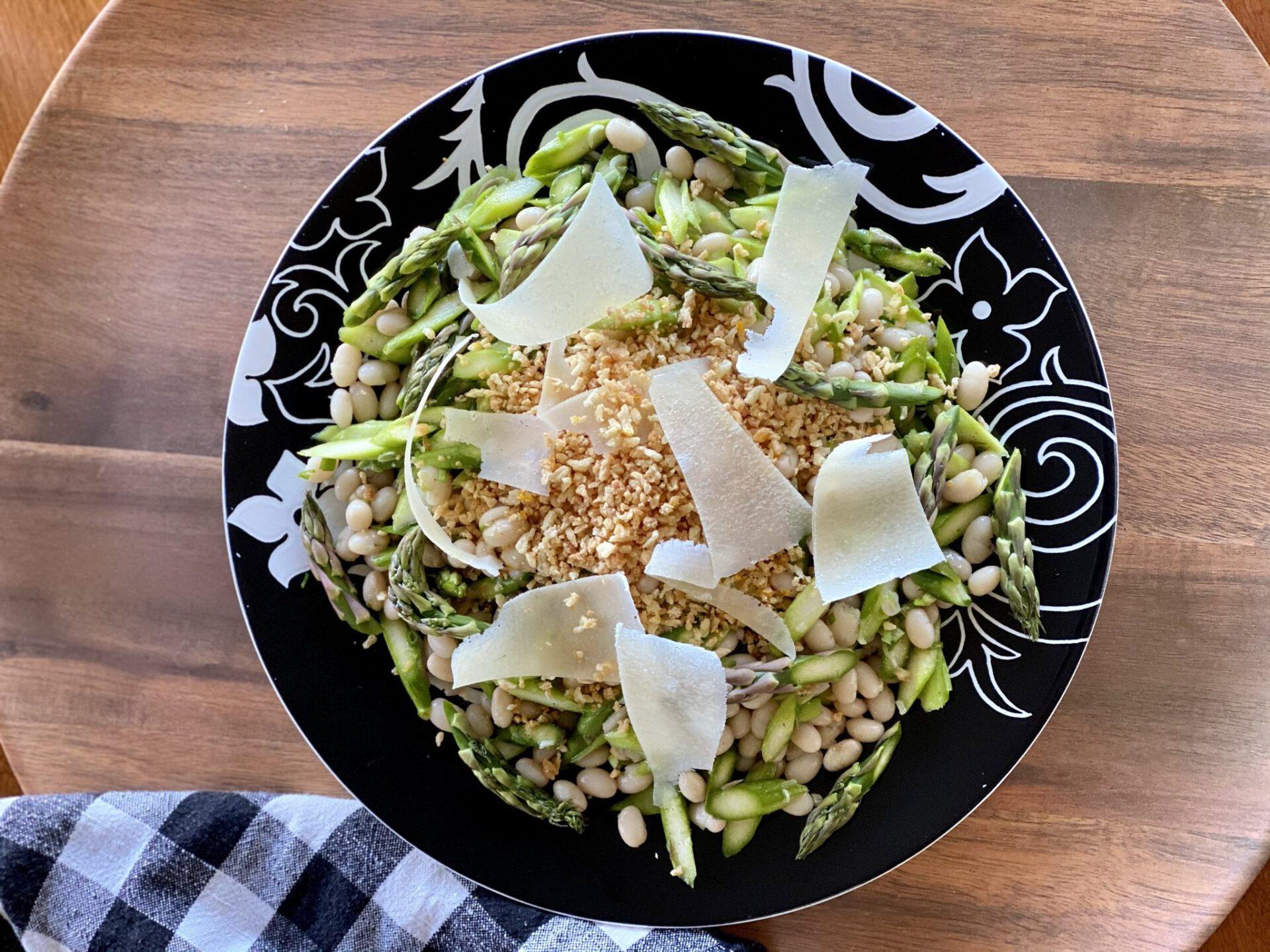 asparagus bean salad
